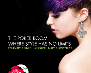 Jax Poker Room retail ad